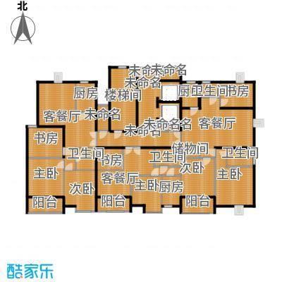 海天城113.41㎡野风户型8室3厅4卫3厨