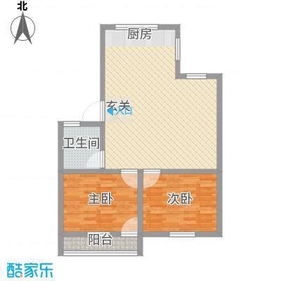 五凤枇杷山小区83.00㎡五凤枇杷山小区2室户型2室