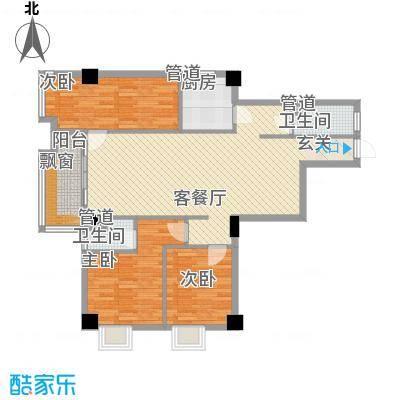 房建大厦121.00㎡房建大厦户型图3房2厅3室2厅1卫户型3室2厅1卫