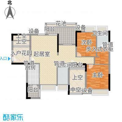 君汇上品110.00㎡君汇上品户型图7栋01户型2室2厅2卫1厨户型2室2厅2卫1厨