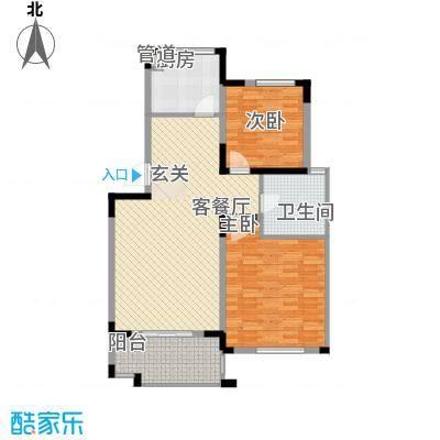 五凤新区120.00㎡五凤新区3室户型3室