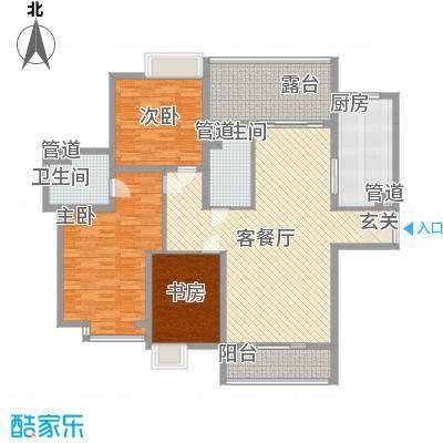 祈福湖滨花园140.00㎡祈福湖滨花园户型图户型图4室2厅2卫1厨户型4室2厅2卫1厨