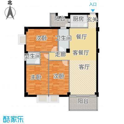 喜联大厦114.60㎡喜联大厦户型图B座14单位3室2厅2卫1厨户型3室2厅2卫1厨
