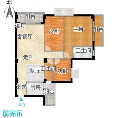 喜联大厦115.48㎡喜联大厦户型图B座16单位3室2厅2卫1厨户型3室2厅2卫1厨