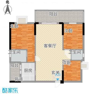 金翠峰1号金翠峰1号户型图户型图43室2厅2卫1厨户型3室2厅2卫1厨