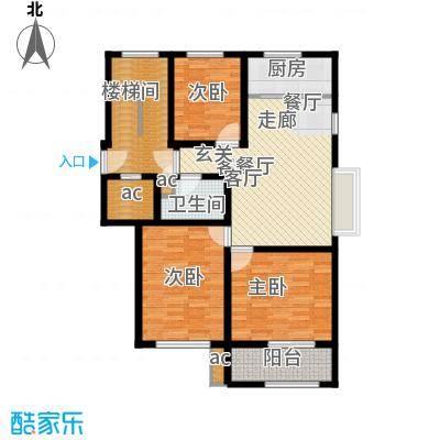 向阳城108.00㎡向阳城户型图B标准层户型图3室2厅1卫1厨户型3室2厅1卫1厨
