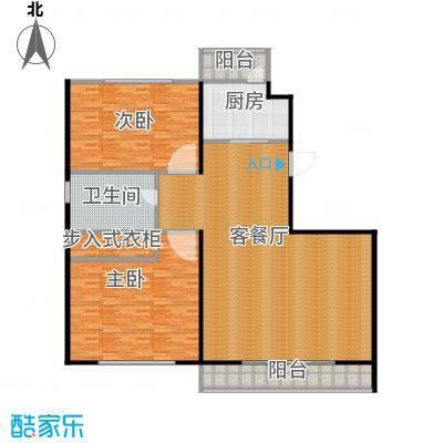 海天公寓191.18㎡户型2室1厅1卫1厨