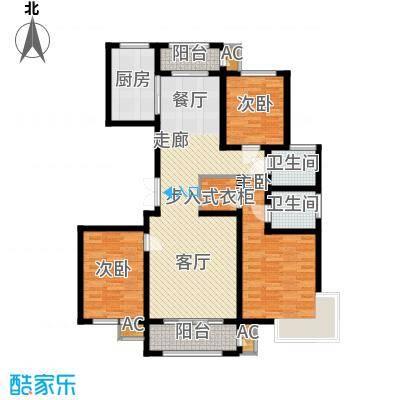 中铁・逸都国际户型图C5户型 3室2厅2卫1厨