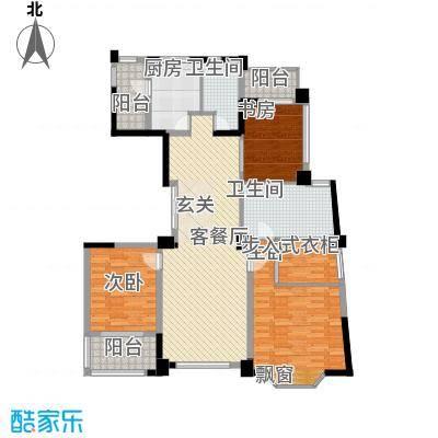 浦江公馆163.09㎡浦江公馆户型图户型图3室2厅2卫户型3室2厅2卫