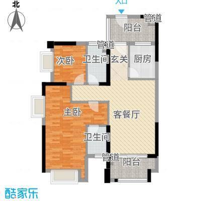 海源花园101.00㎡海源花园3室户型3室