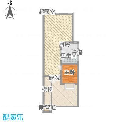 琵琶岛山水豪庭78.56㎡琵琶岛山水豪庭户型图A户型1室2厅1卫户型1室2厅1卫