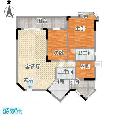 金翠峰1号金翠峰1号户型图户型图53室2厅2卫1厨户型3室2厅2卫1厨