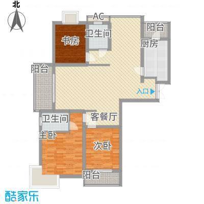 中邦城市花园147.47㎡中邦城市花园户型图C6户型3室2厅2卫户型3室2厅2卫