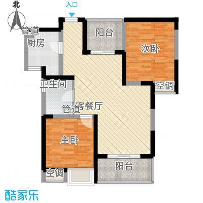紫云花园85.00㎡紫云花园3室户型3室