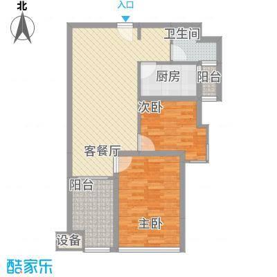 6#楼B户型