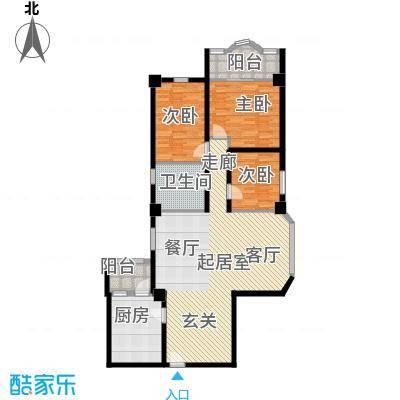 好景花园户型图 3室2厅 户型图 3室2厅1卫1厨