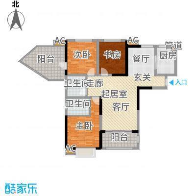 安大磬苑安大磬苑户型图三室两厅户型图3室2厅1卫1厨户型3室2厅1卫1厨