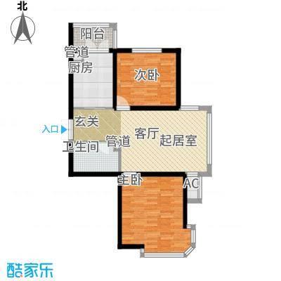 丰乐小区58.00㎡丰乐小区2室户型2室