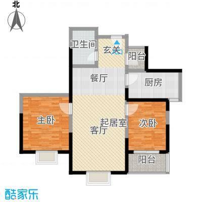 龙兴苑98.00㎡龙兴苑3室户型3室