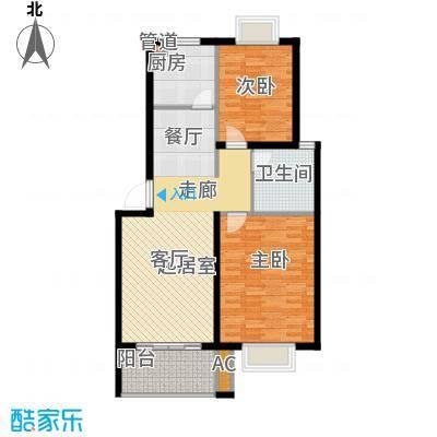 龙兴苑91.00㎡龙兴苑2室户型2室