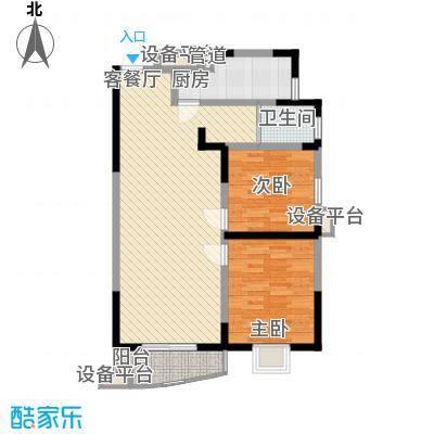 公园204687.00㎡公园2046户型图户型b2室2厅1卫1厨户型2室2厅1卫1厨