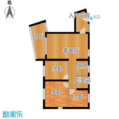 阳光100国际新城87.00㎡波普公寓A户型3室1厅1卫1厨