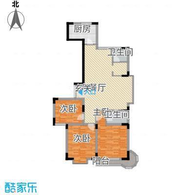 名人御苑146.87㎡名人御苑户型图3室2厅2卫1厨户型10室