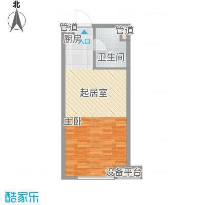 小天鹅品园52.00㎡A户型1室1厅1卫