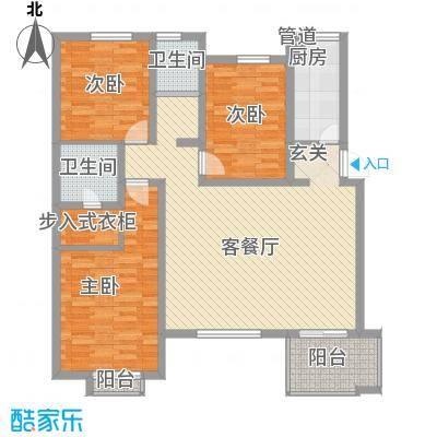 幸福时光110.00㎡幸福时光户型图3室2厅1卫户型3室2厅1卫