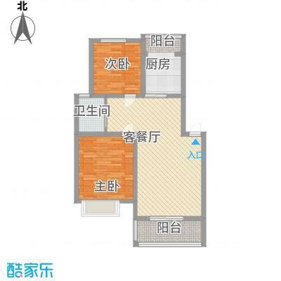 格林馨园97.00㎡格林馨园2室户型2室
