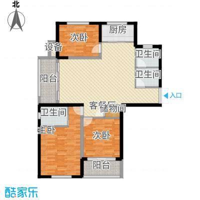 元一时代广场 1室 户型图