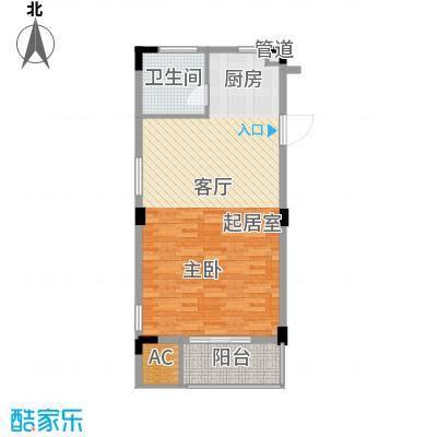龙兴苑 1室 户型图