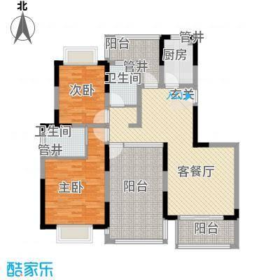 空港一号花园135.95㎡空港一号花园户型图g2-1户型2室2厅2卫1厨户型2室2厅2卫1厨