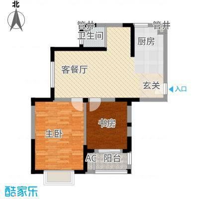 空港一号花园88.76㎡空港一号花园户型图g3-1户型2室2厅2卫1厨户型2室2厅2卫1厨