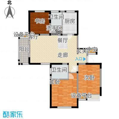 美满锦园135.00㎡美满锦园户型图A2户型3室2厅2卫1厨户型3室2厅2卫1厨