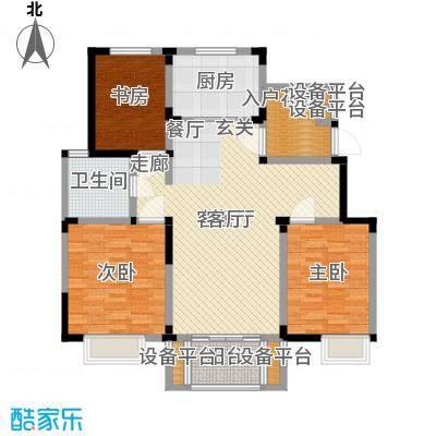 美满锦园114.50㎡美满锦园户型图C1户型3室2厅1卫1厨户型3室2厅1卫1厨
