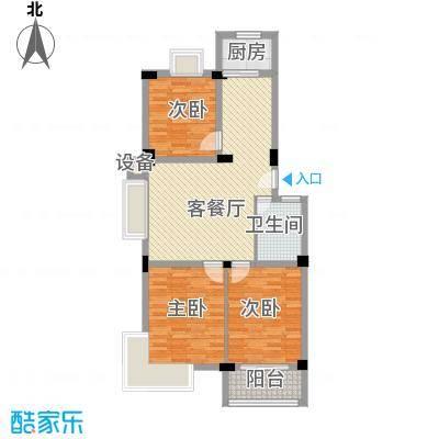 江晨园江晨园户型图3室2厅1卫1厨户型10室