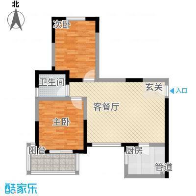 枫馨雅苑72.00㎡枫馨雅苑2室户型2室