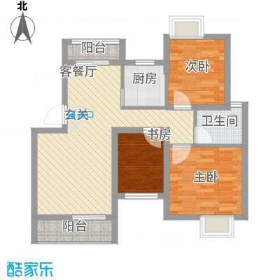 科创小区106.00㎡科创小区2室户型2室