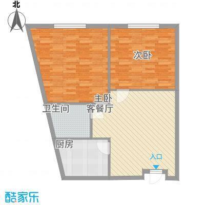 拓基沃野花园100.00㎡拓基沃野花园户型图SOHO公寓100平米住宅户型10室