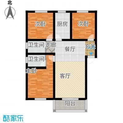 凯丽大厦170.00㎡凯丽大厦3室户型3室
