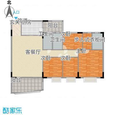 华南新城山咏轩260.00㎡华南新城山咏轩4室户型4室