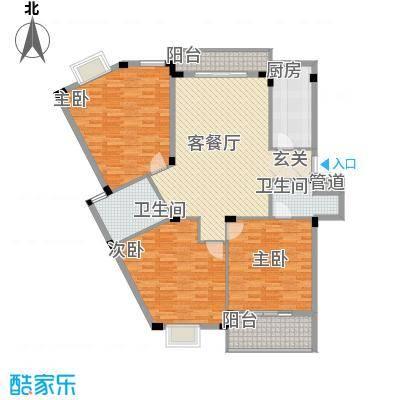 翠微南苑翠微南苑户型图43室2厅2卫1厨户型3室2厅2卫1厨