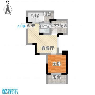 龙湾国际公寓52.23㎡龙湾国际公寓户型图A楼02户型1室2厅1卫1厨户型1室2厅1卫1厨