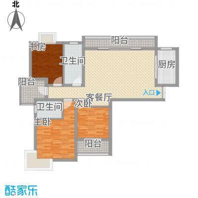 中邦城市花园144.00㎡中邦城市花园户型图C5户型3室2厅2卫户型3室2厅2卫