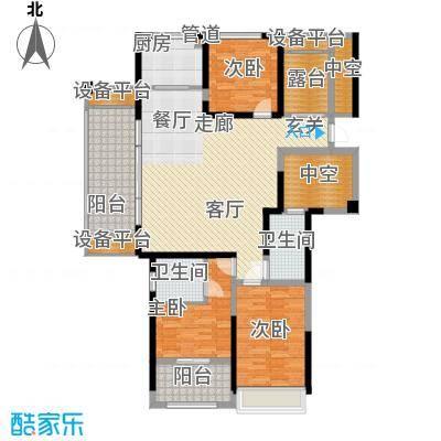香榭一品141.40㎡香榭一品户型图A户型3室2厅2卫户型3室2厅2卫