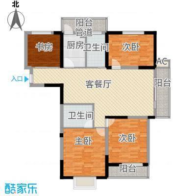 鲲鹏国际广场鲲鹏国际广场户型图四室两厅户型图14室2厅2卫1厨户型4室2厅2卫1厨
