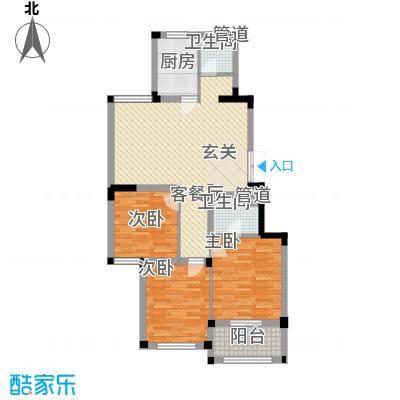 金美林花园114.00㎡金美林花园户型图A2户型3室2厅2卫1厨户型3室2厅2卫1厨
