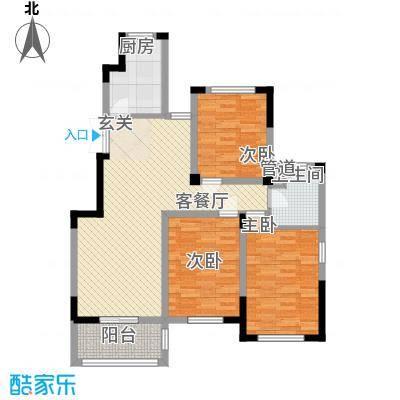 金美林花园112.00㎡金美林花园户型图C1户型3室2厅1卫1厨户型3室2厅1卫1厨