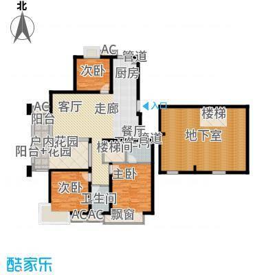 栖霞瑜憬湾128.00㎡栖霞瑜憬湾户型图J底层户型3室2厅2卫户型3室2厅2卫